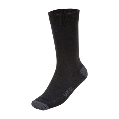 Duty Sock Black Size Sock 9-12