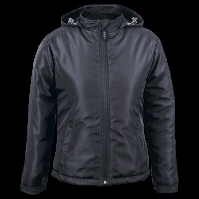 Ladies Cooper Jacket Black/Silver Size Large