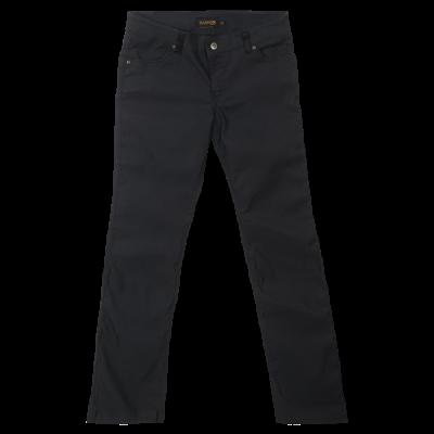 Ladies Stretch Chino Pants Black Size 28