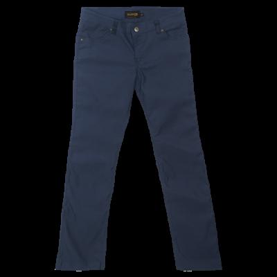 Ladies Stretch Chino Pants Navy Size 36