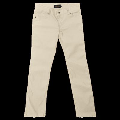Ladies Stretch Chino Pants Stone Size 34