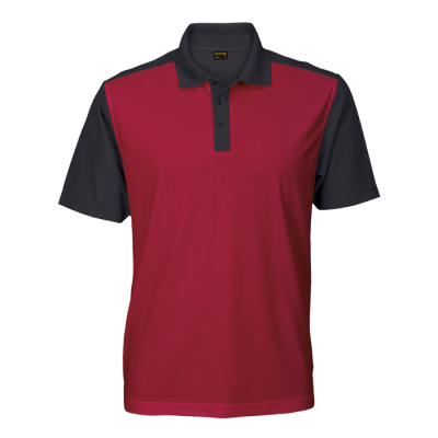 Mens Eagle Golfer Red/Black Size Medium