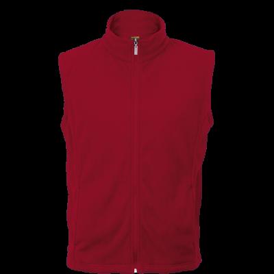 Newbury Fleece Red Size Small