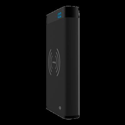 Snug Qi Wireless Charging Power Bank - 10000 mAh Black