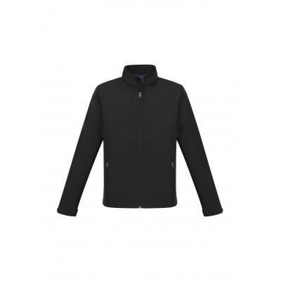 Mens Pinnacle Softshell Jacket Black Size 3XL
