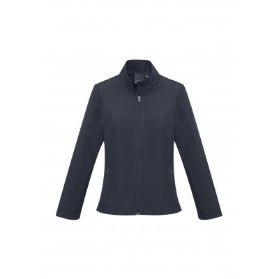 Ladies Pinnacle Softshell Jacket Navy Size L