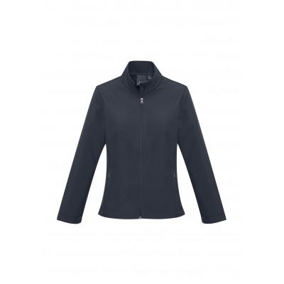 Ladies Pinnacle Softshell Jacket Navy Size M