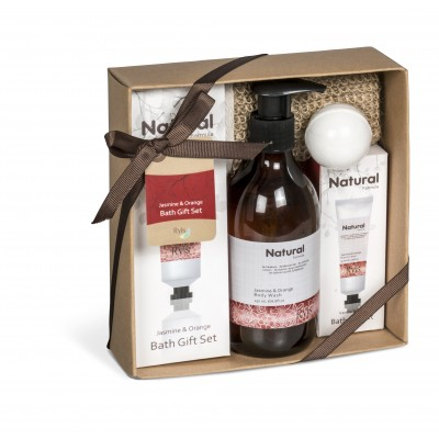 Ryis Jasmine And Orange Bath Gift Set Natural