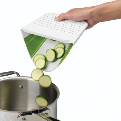 Chef'n-Grind Prep'n Catch Collapsible Silicone Mat
