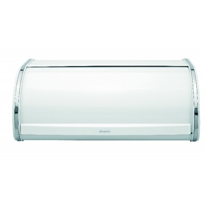 Brabantia Bread Bin Roll Top White