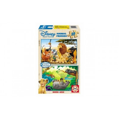 Educa Disney Animal Friends Puzzles (2X50Piece)