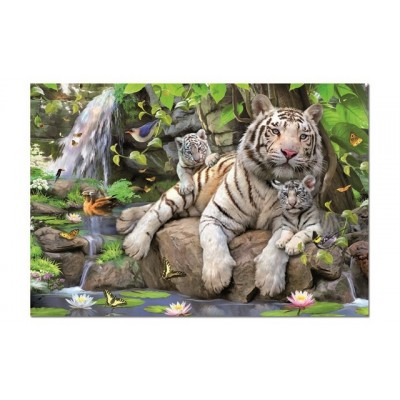 Educa White Tigers Of Bengal (1X1000Piece)