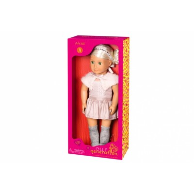 Our Generation Classic Doll Alexa 18Inch Platinum Blonde