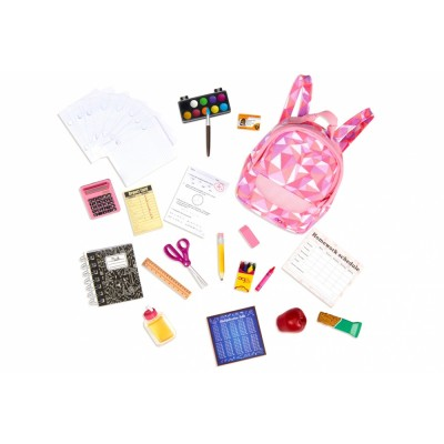 Our Generation Classic Off To School Playset With Accessories
