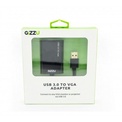 GIZZU USB3.0 to VGA Adapter