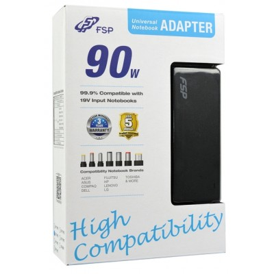 FSP Slim 90W Universal Notebook Adapter