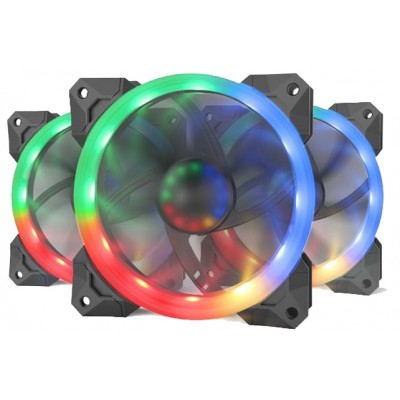 Redragon 3xRGB LED Full Colour Fan