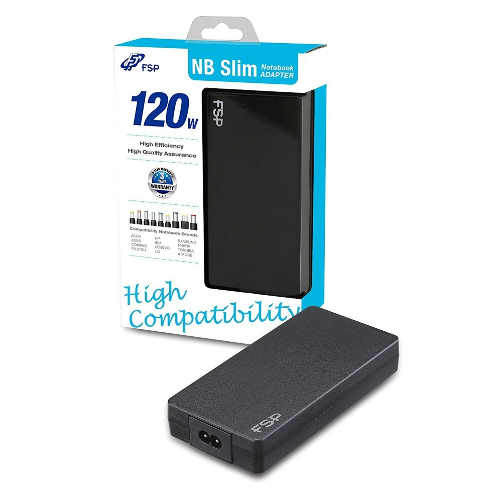 FSP Slim 120W Universal Notebook Adapter