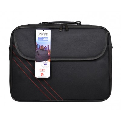 Port Designs CLAMSHELL 14/15.6' Notebook Case - Black