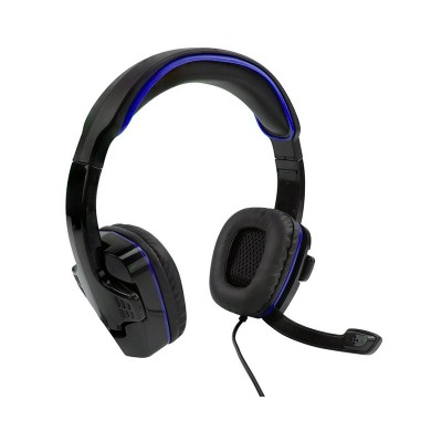 Sparkfox PS4 SF1 Stereo Headset Black and Blue