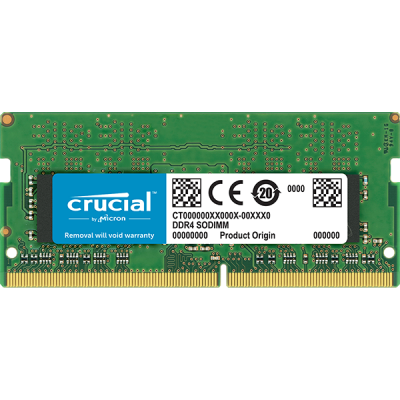 Crucial 8GB DDR4 2666MHz SO-DIMM Single Rank
