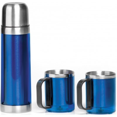 Admiral Flask & Mug Set Blue